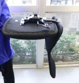 座面に背もたれを設置した状態